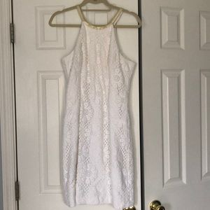 Lilly Pulitzer White Pearl Shift